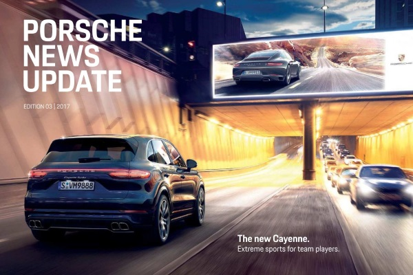 Porsche news update - Edition 3 2017