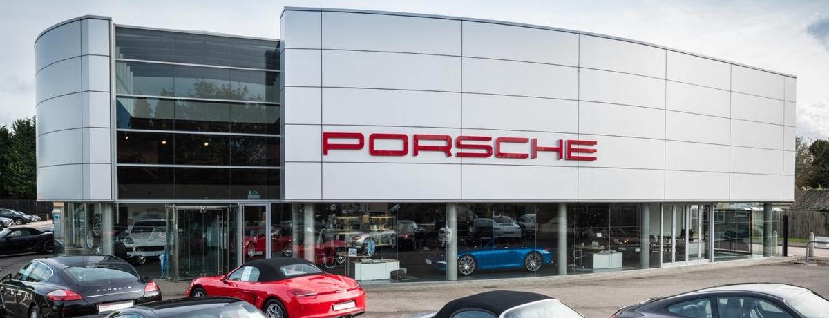 Homepage | Porsche Centre Cambridge